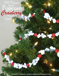 christmas popcorn cranberry strings